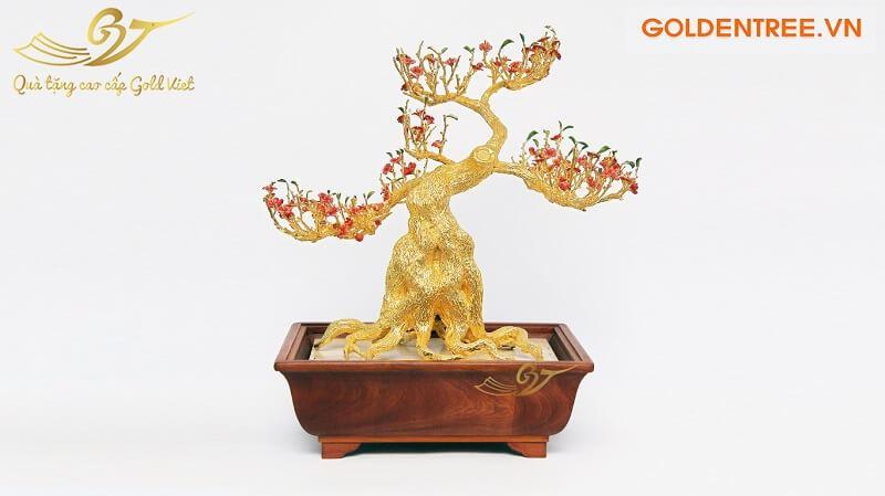 Cây đào mạ vàng size lớn
