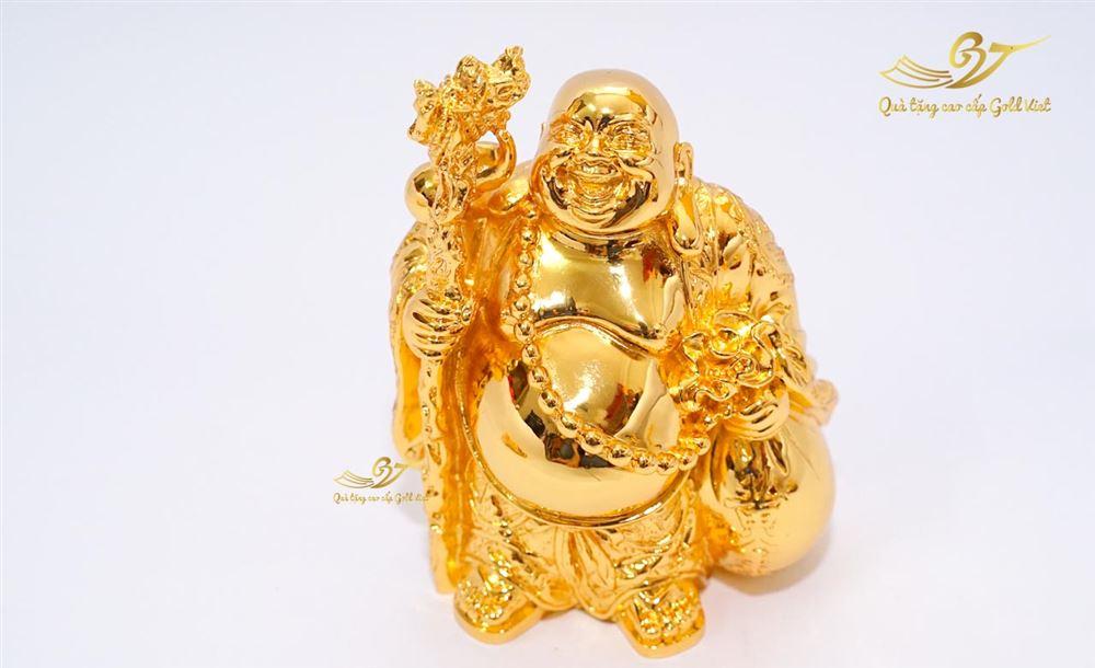 Tượng Phật Di Lặc Đứng Mạ Vàng - C14