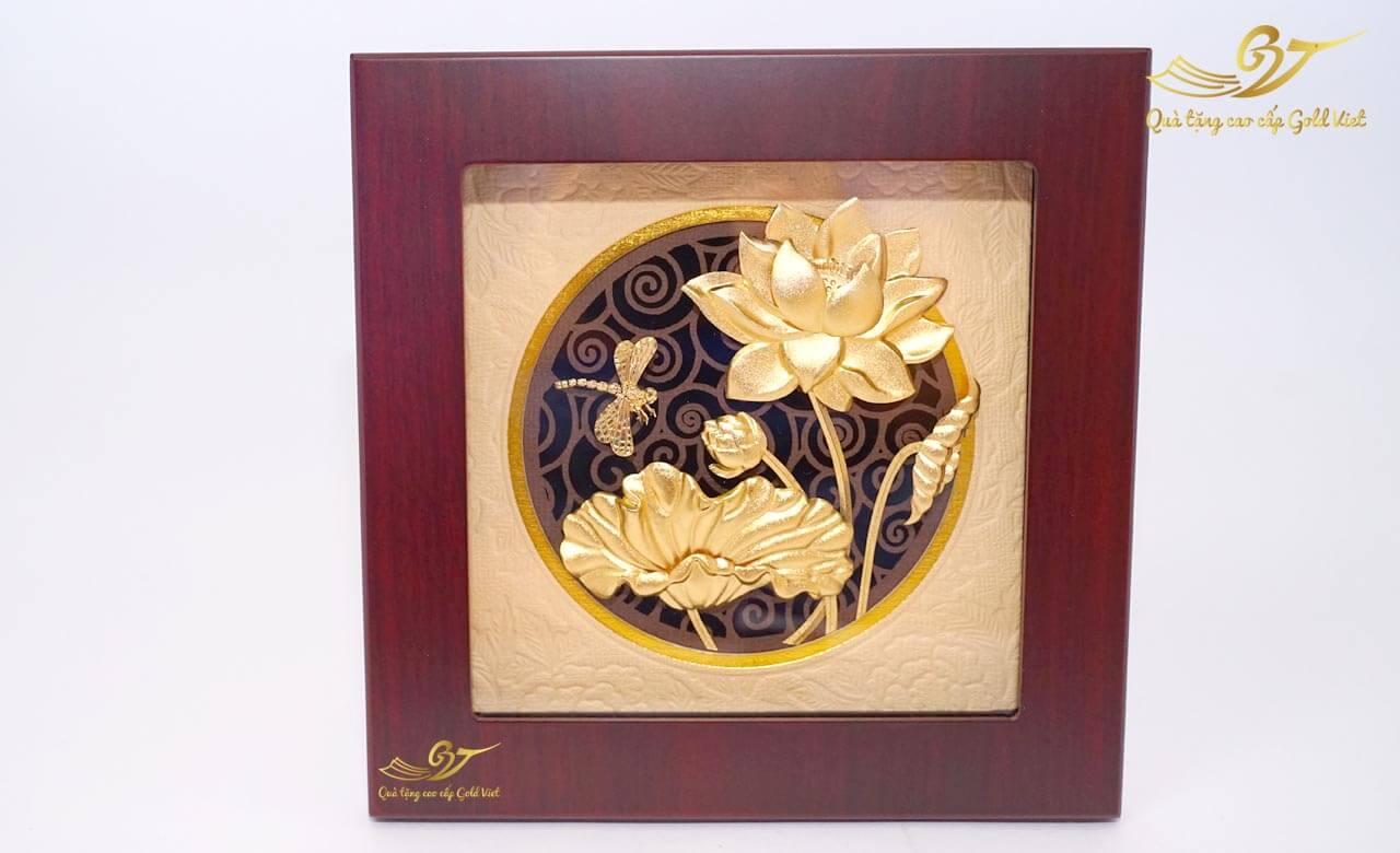 Ý nghĩa hoa sen vàng trong phong thủy