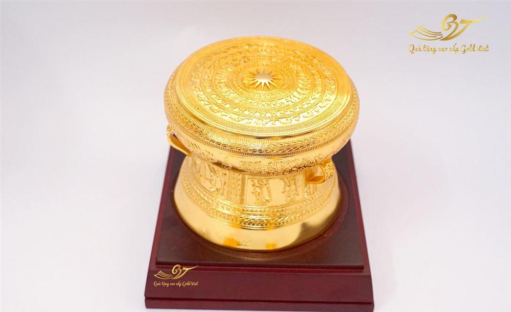 Trống đồng F10 Mạ vàng