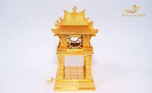Tượng khuê văn các mạ vàng cao 14cm