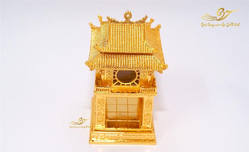 Tượng khuê văn các mạ vàng cao 17cm
