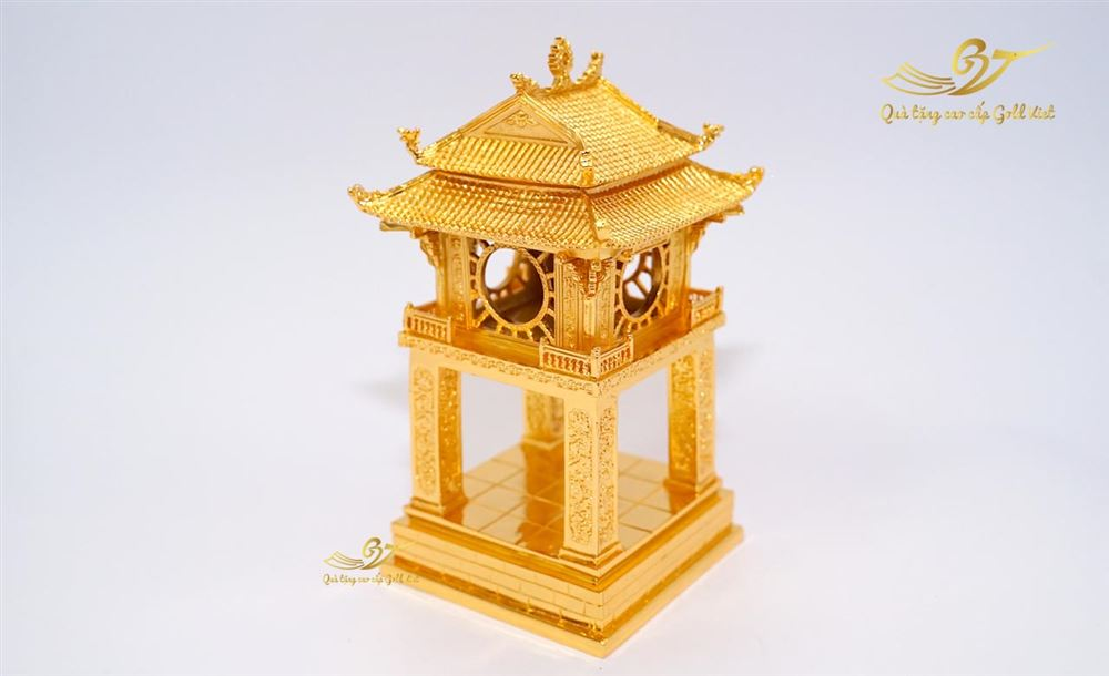 Tượng khuê văn các mạ vàng cao 35cm (S3)