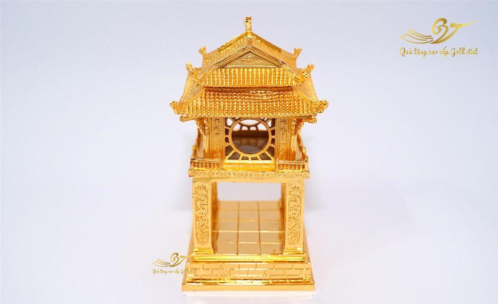 Tượng khuê văn các mạ vàng cao 35cm (S4)
