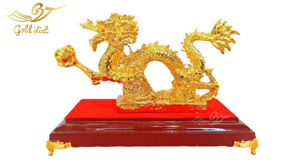 tượng rồng cầm ngọc 3