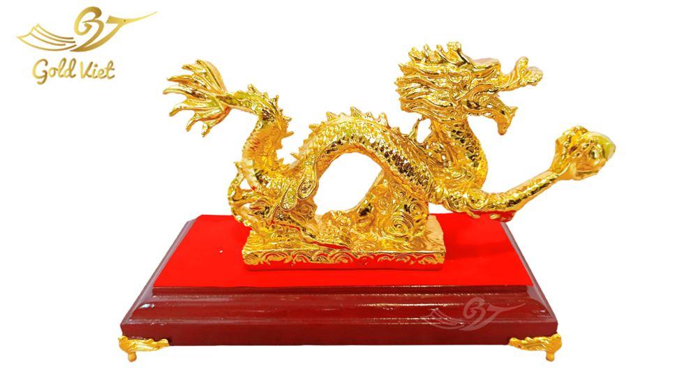tượng rồng cầm ngọc