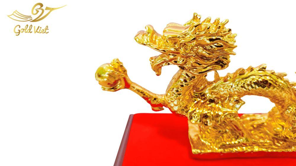 tượng rồng cầm ngọc 2