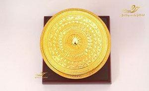 Trống đồng F7 Mạ vàng