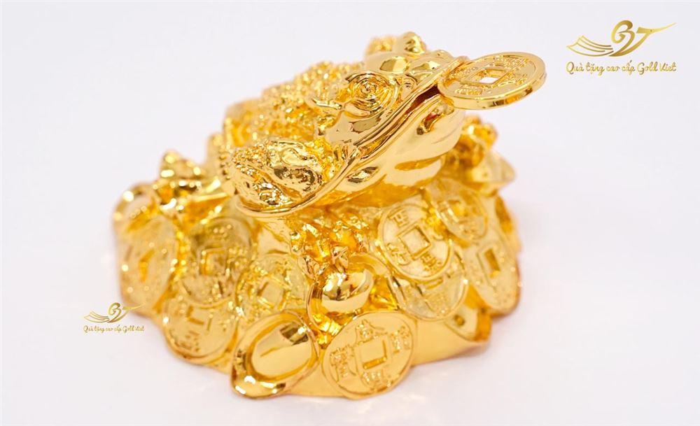 Tượng Cóc Ngậm Tiền Vàng