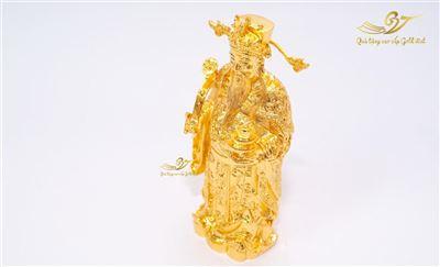 Tượng Thần Tài Mạ Vàng - C17 cm
