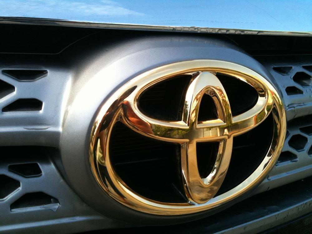 Bảng giá mạ logo ô tô